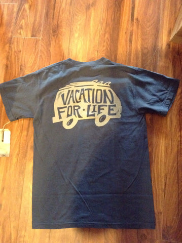 Vacation For Life - V4L VW Bus Logo