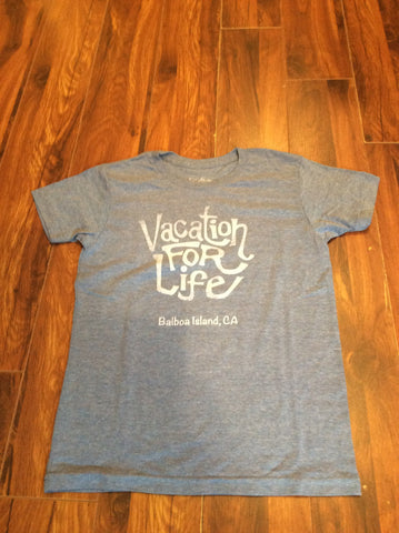 Vacation For Life - Youth V4L Logo Tee
