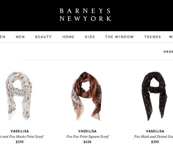 VASSILISA: Barneys Edition