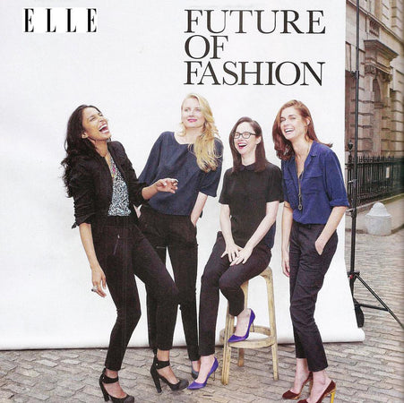 Nadja Solovieva in ELLE UK, Vassilisa London brand creative director
