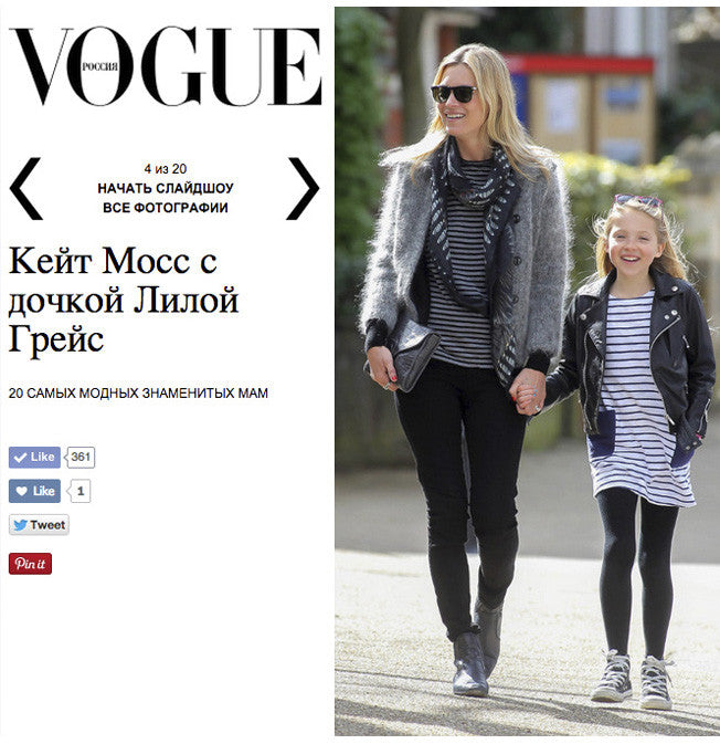 Vogue.ru - Kate Moss in VASSILISA