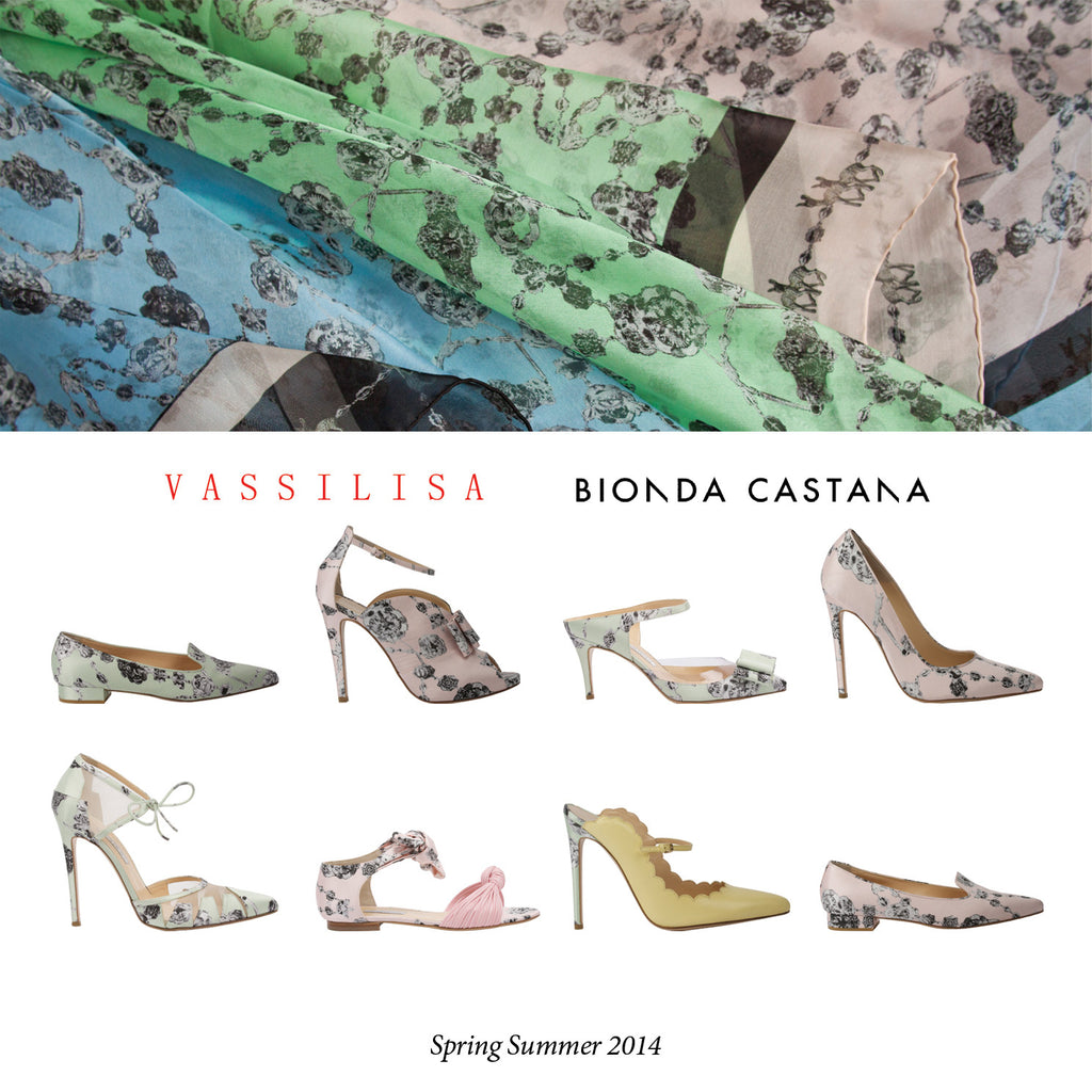 VASSILISA Luxury Shoes Collaboration