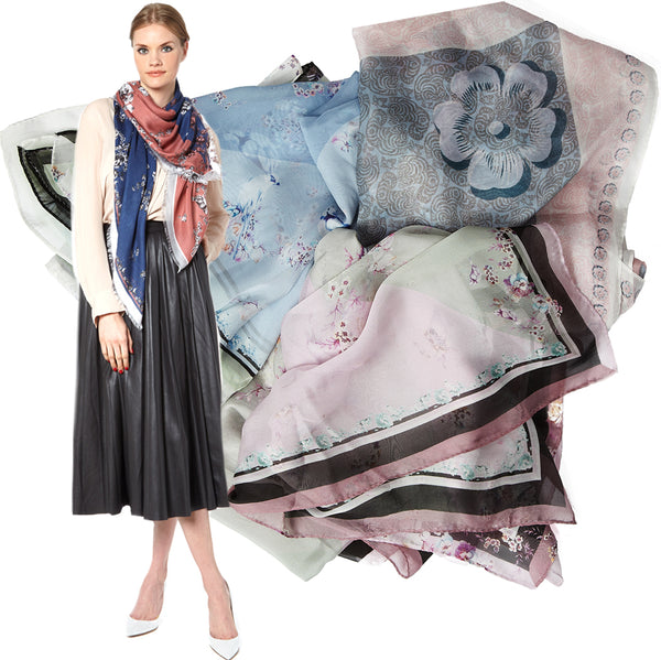 VASSILISA scarves Spring Summer Collection