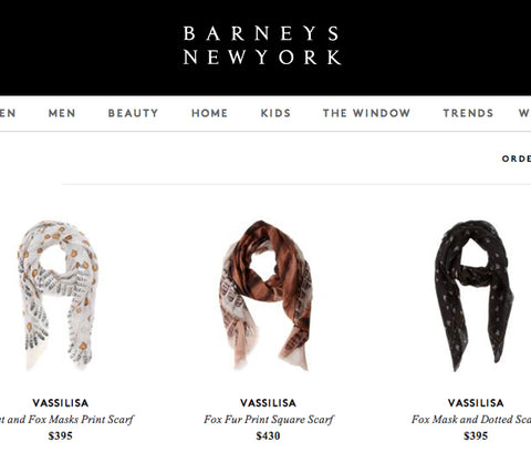 scarves barneys vassilisa