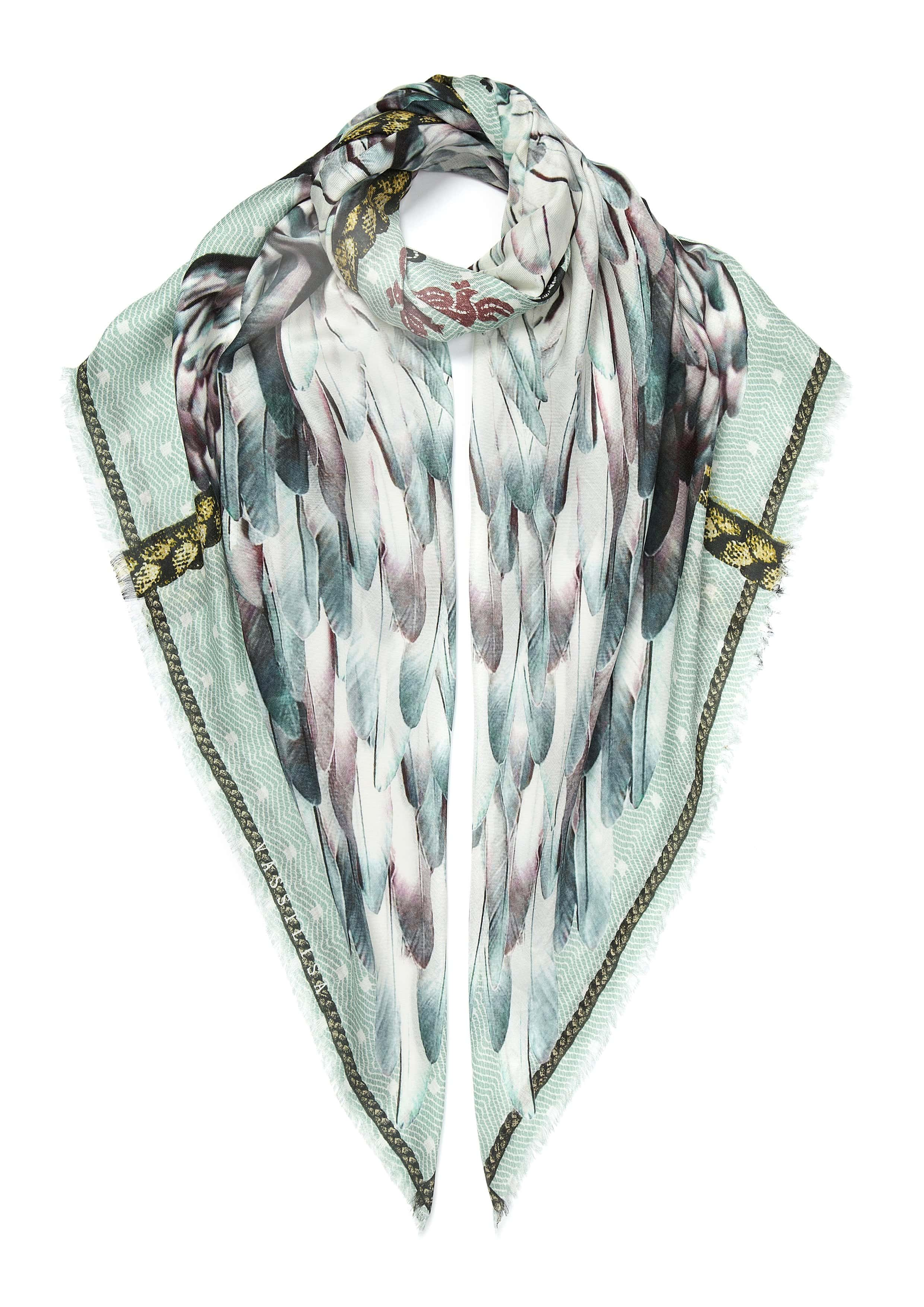 Vassilisa: Scarf wing mint green | Accessories > Scarves,Accessories -  Hiphunters Shop