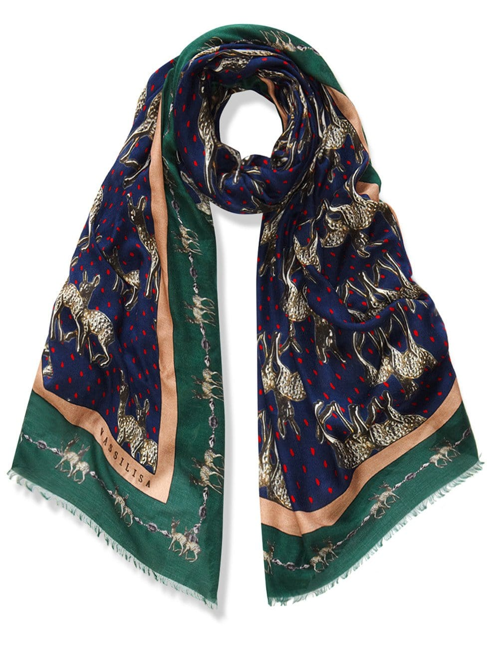 Bambi scarf blue xl