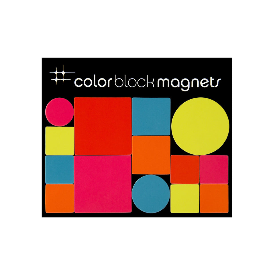 color block magnets