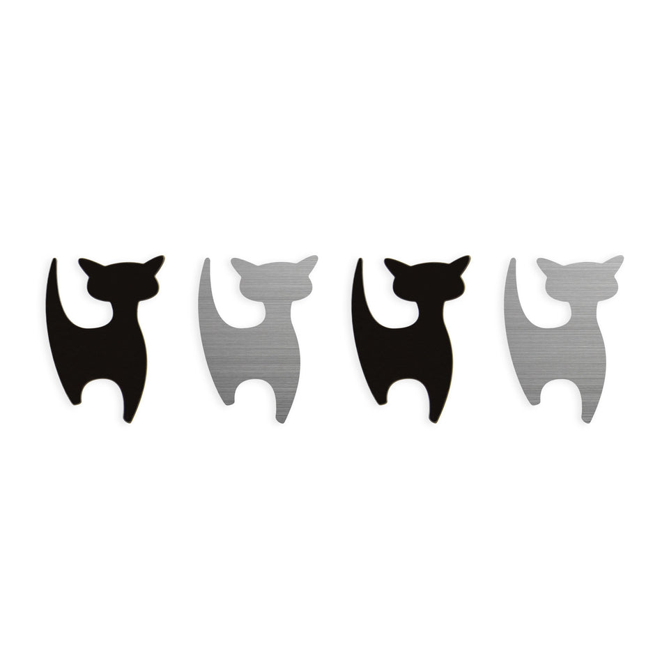 shape·up! metal magnets | cats