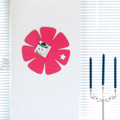 shape·up! flower magnet board