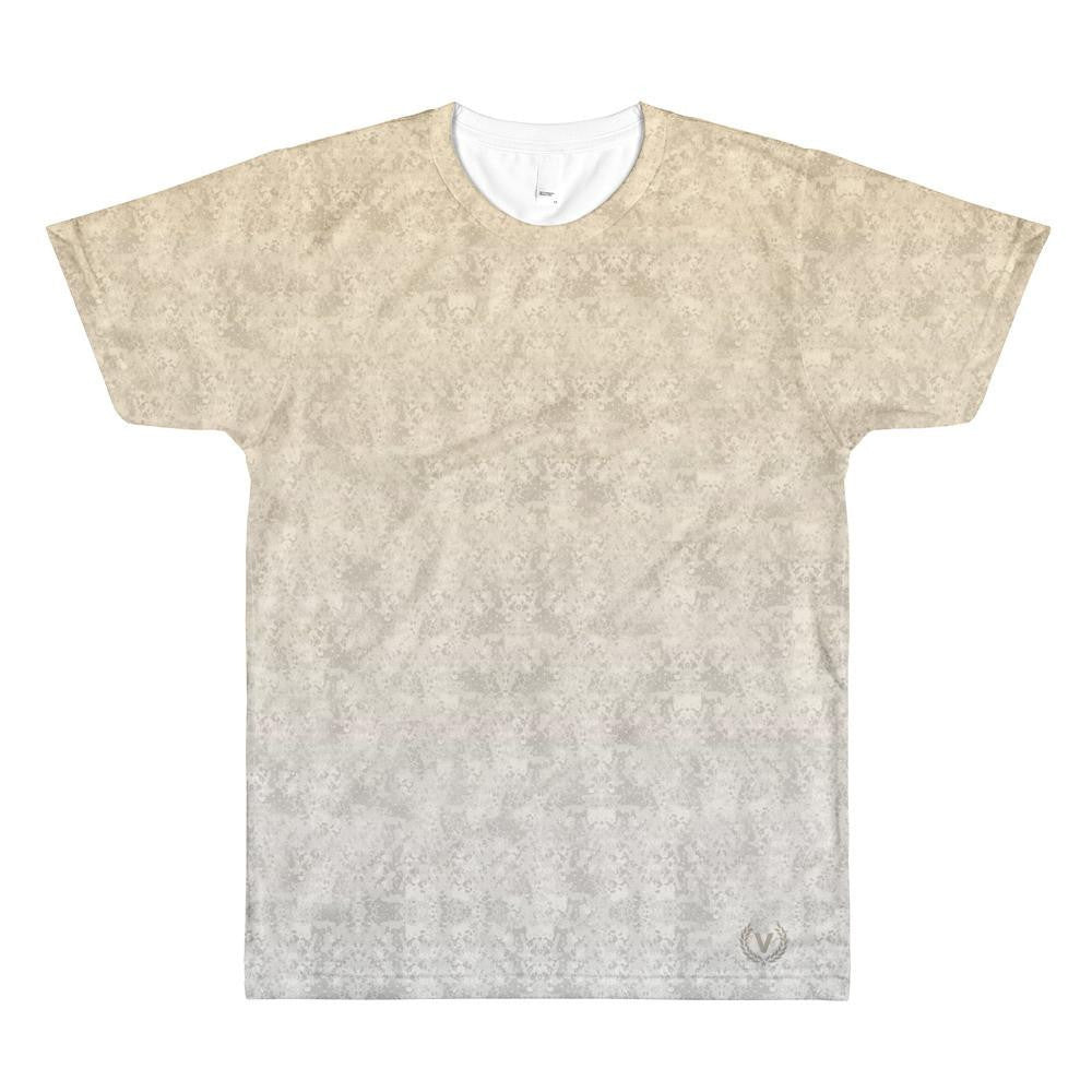 Sublimation men's crewneck t-shirt
