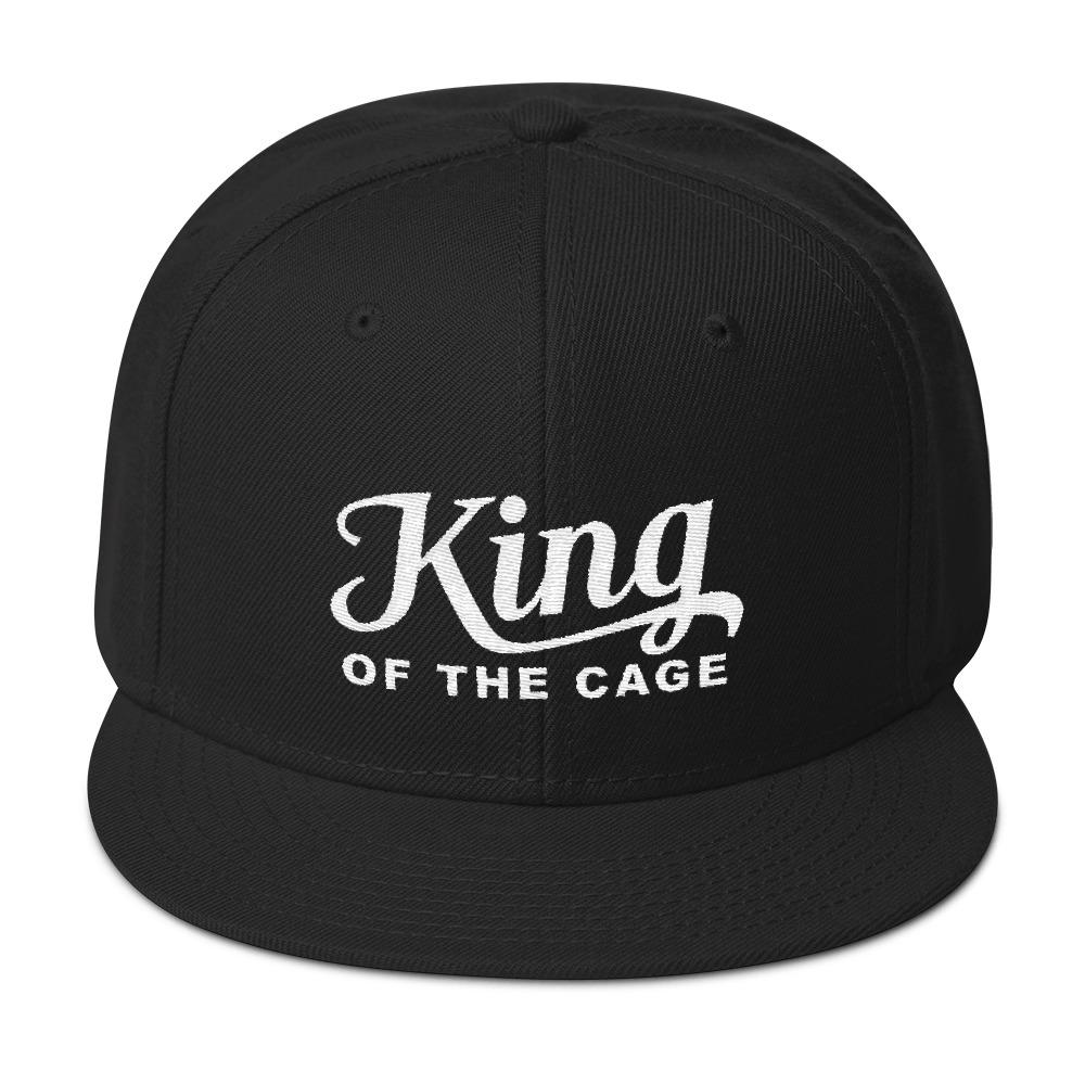 King of The Cage Snapback Hat