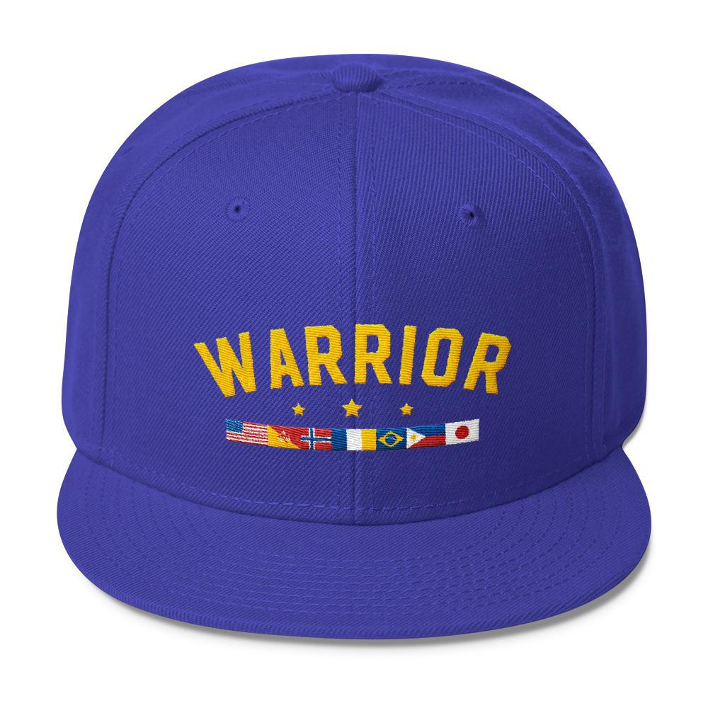 VENDETTA WARRIOR Wool Blend Snapback