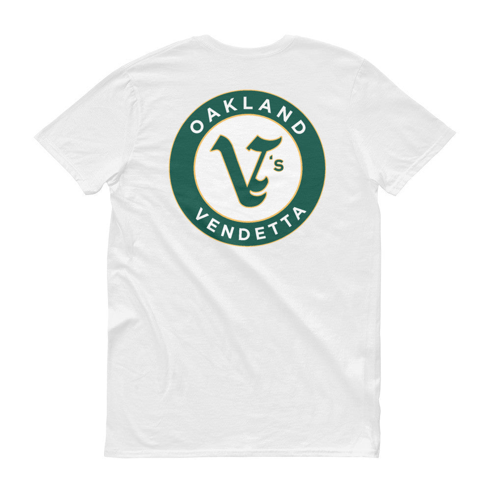 Short sleeve OAKLAND V's t-shirt