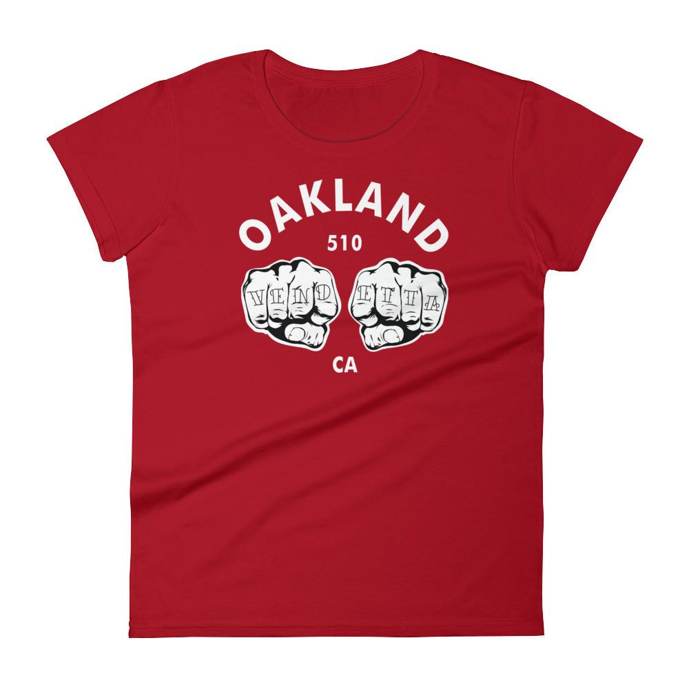 Women's short sleeve Oakland Fists t-shirt