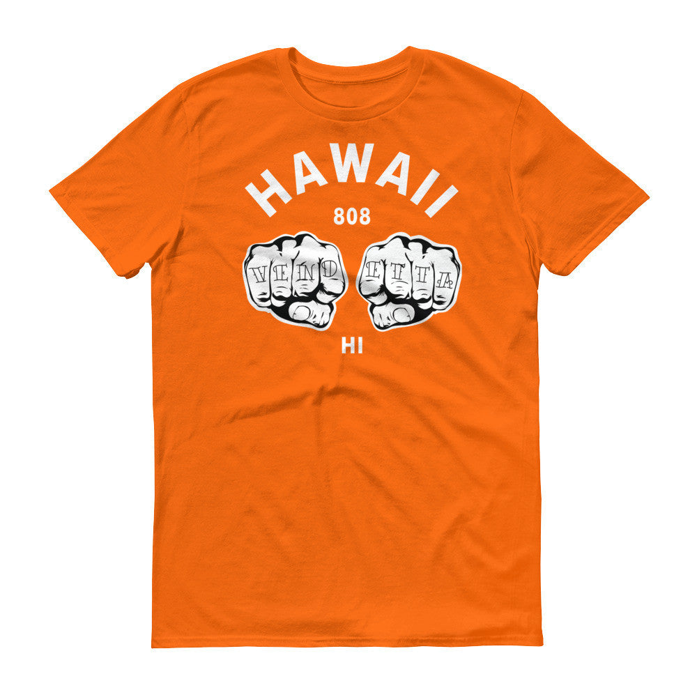 Short sleeve Hawaiian Fists t-shirt
