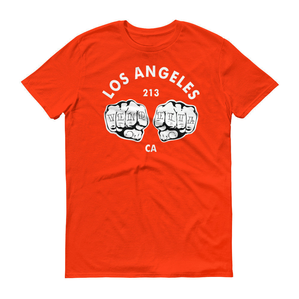 Short sleeve Los Angeles Fists t-shirt