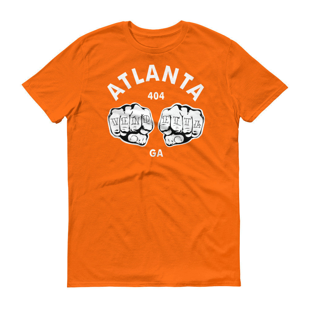 Short sleeve Atlanta Fists t-shirt