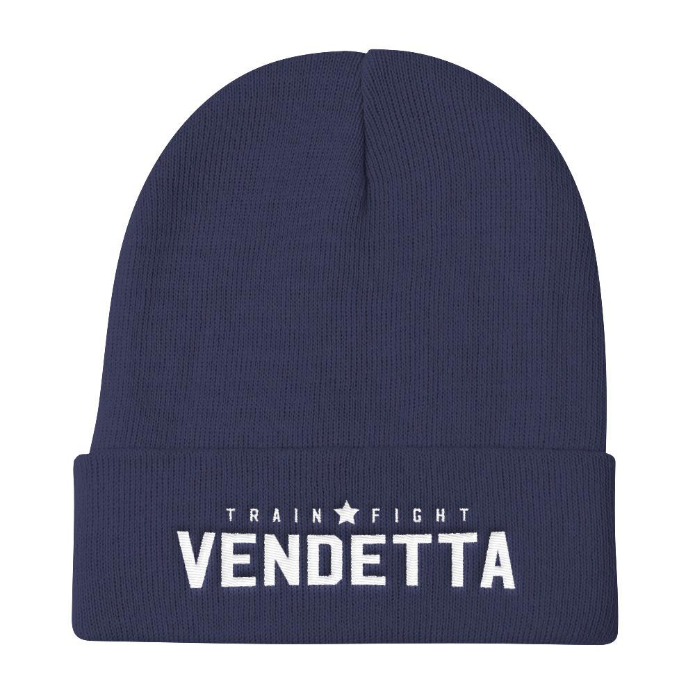 VENDETTA Train Fight Knit Beanie