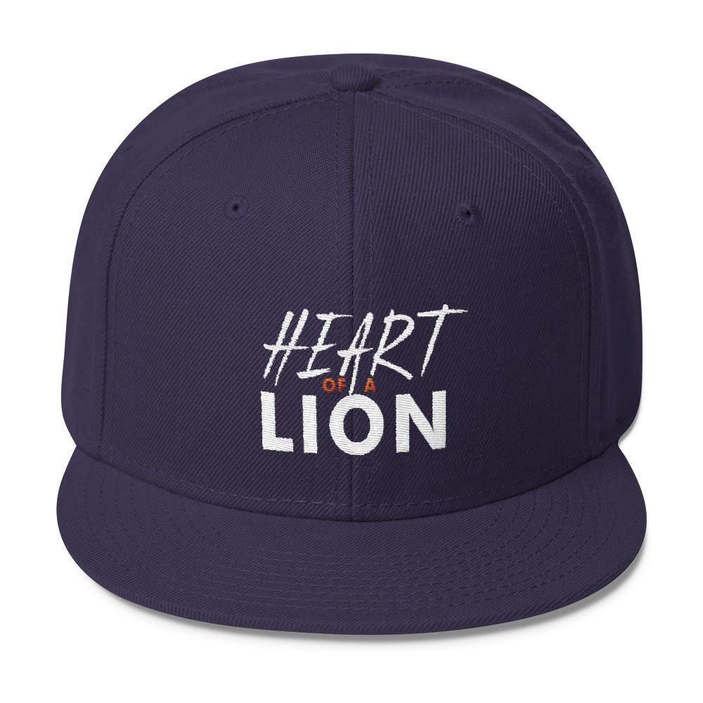 VENDETTA Heart of a Lion Wool Blend Snapback