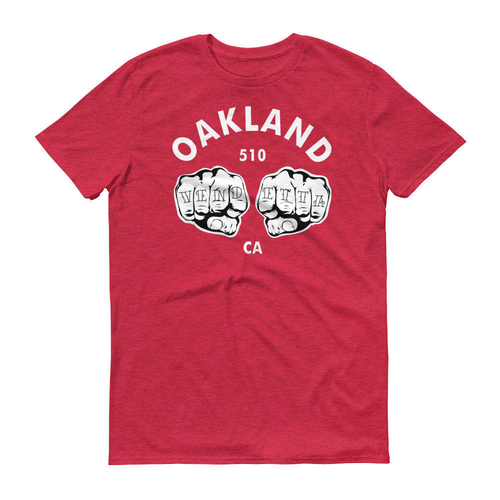 Short sleeve Oakland Fists t-shirt