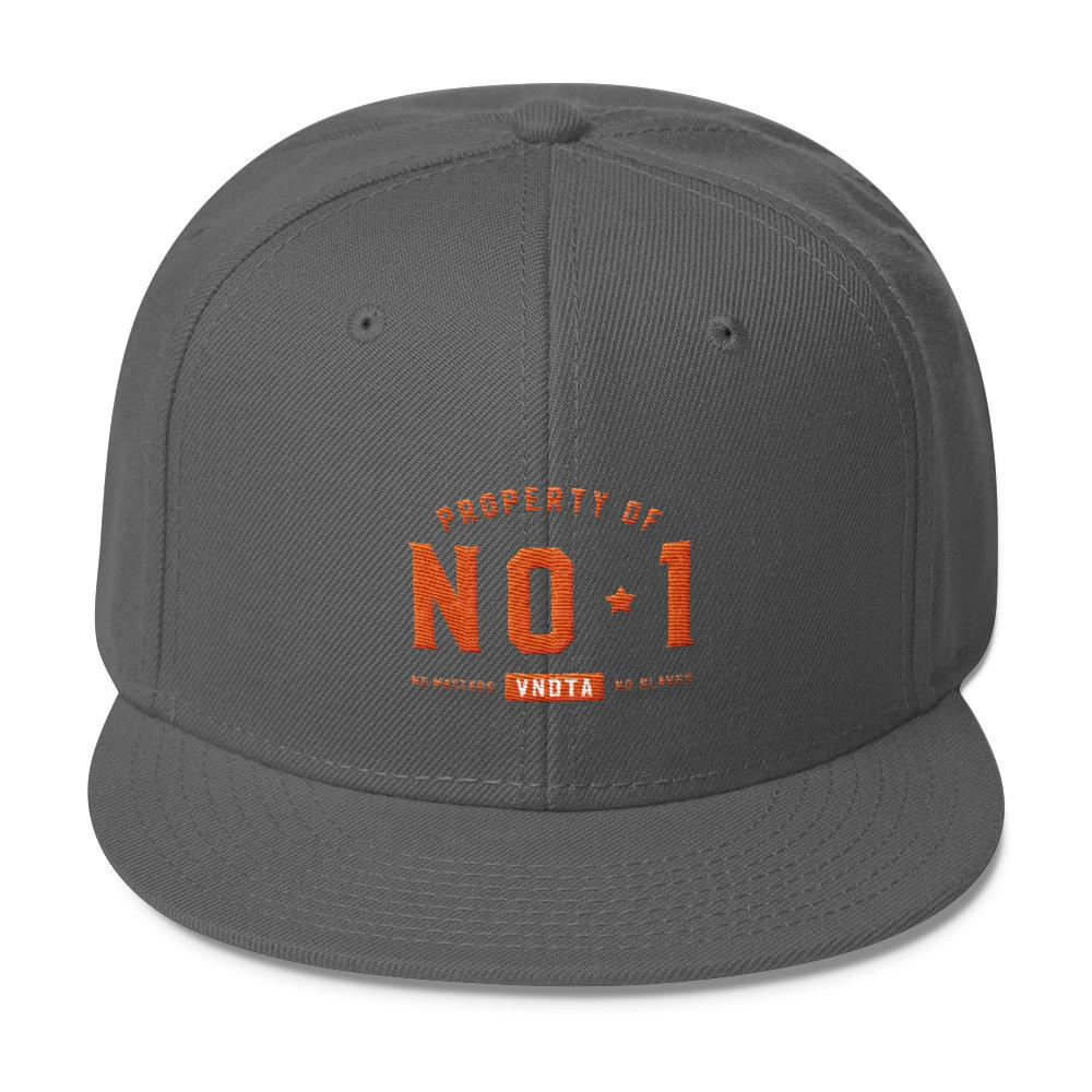 VENDETTA Property of No 1 Wool Blend Snapback