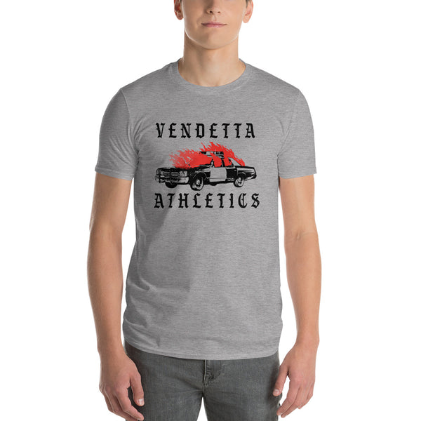 VENDETTA Men's RIOT Short Sleeve T-Shirt