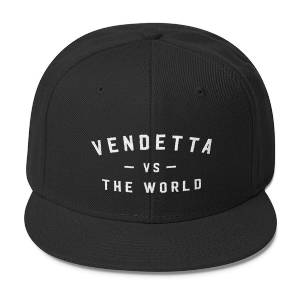 VENDETTA Vs THE WORLD Wool Blend Snapback