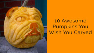 10 Pumpkins you Wish you Carved