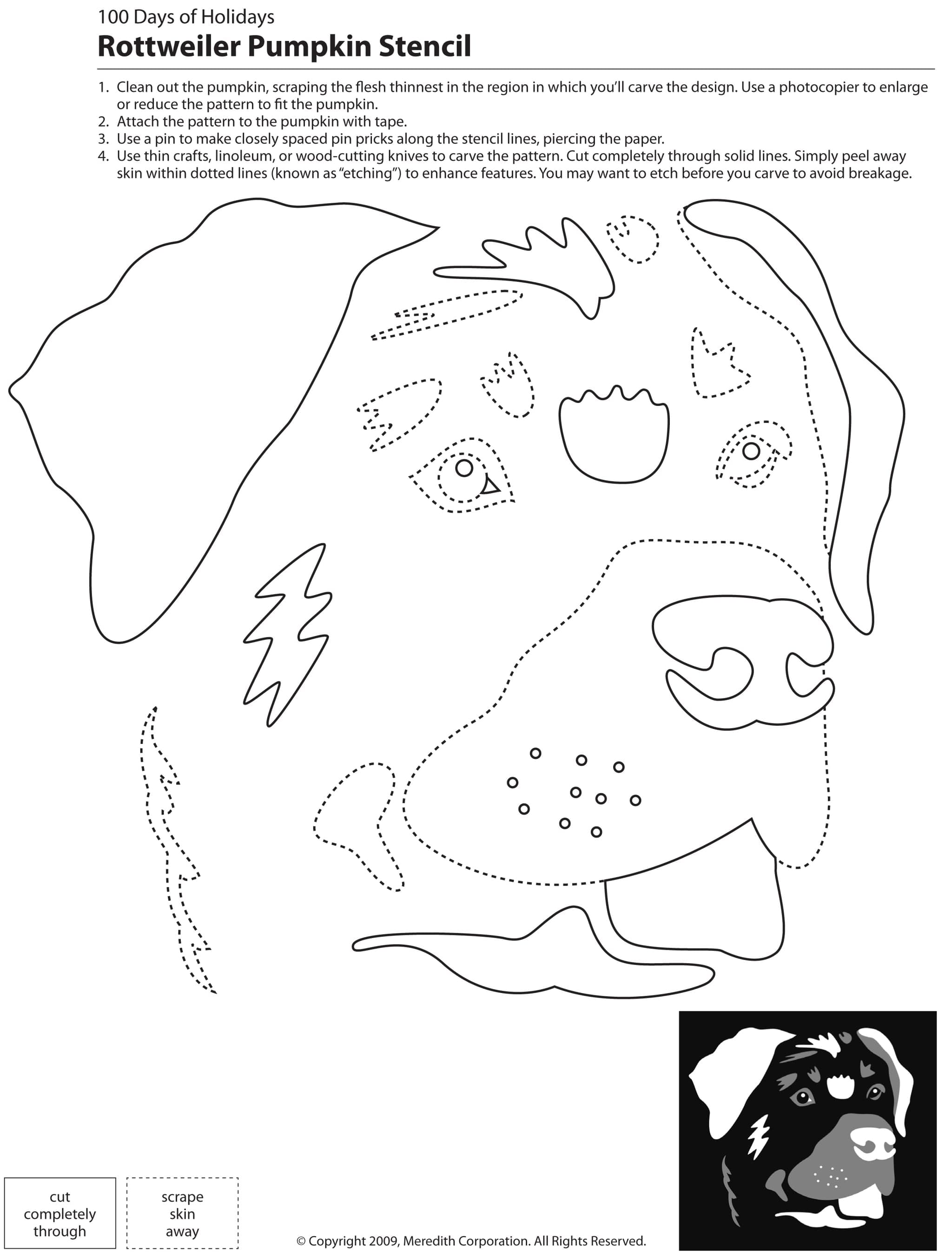 how to make german shepherd stencil