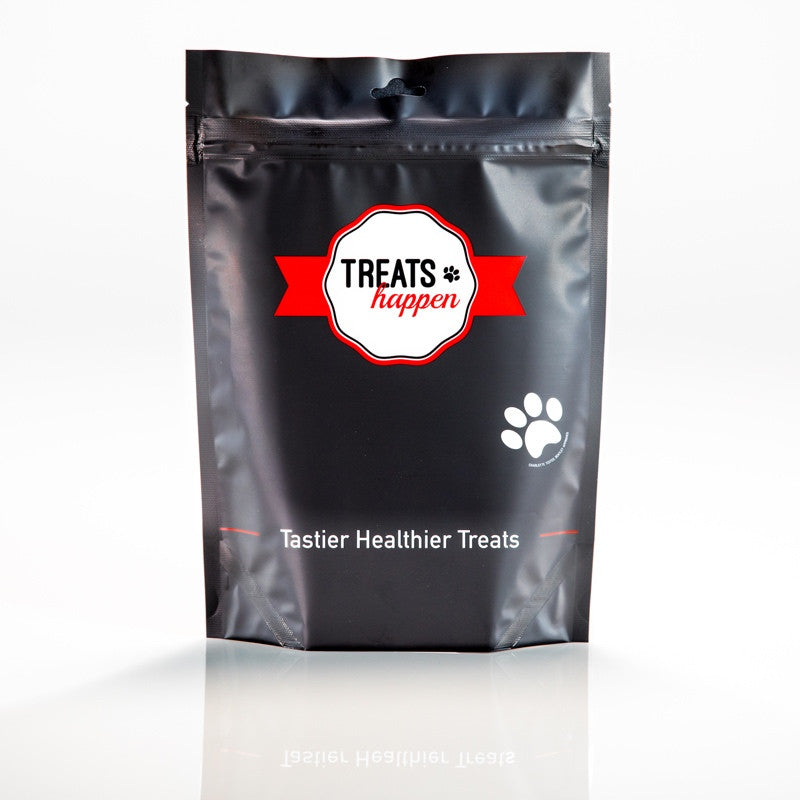 One free full sized bag of Treats Happen