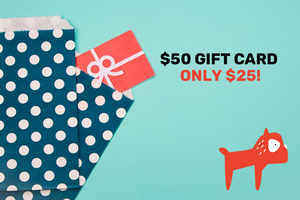 Gift Card Promo! $50 Gift card for just $25!