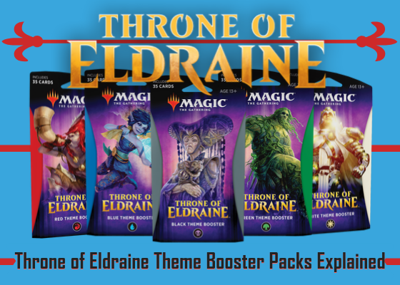 MTG 35 Card Red Theme Booster Pack Throne of Eldraine