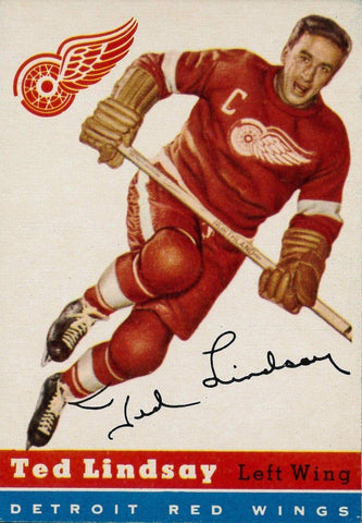 1954-55 Topps NHL Hockey Card