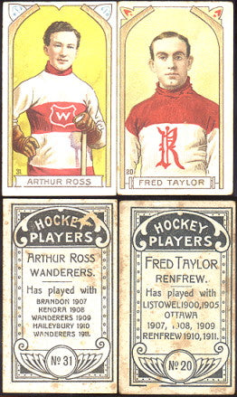 1911 Rare Imperial Tobacco Company Hockey Cards