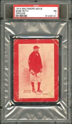 Babe Ruth Trading Card