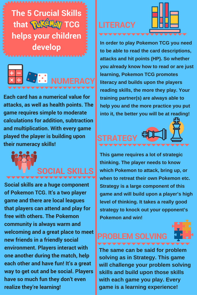 The Pokemon Trading Card Game Helps Your Children Develop These 5 Crucial Skills