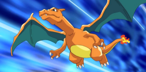 Charizard, the poster boy for aggressive playstyles in the Pokemon TCG