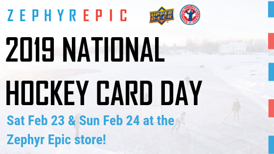 National Hockey Card Day 2019