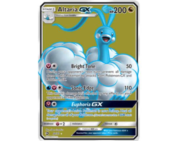 The Power of Dragon Majesty, Altaria GX Unleashed