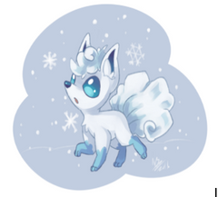 Pokemon Sun and Moon, Vulpix