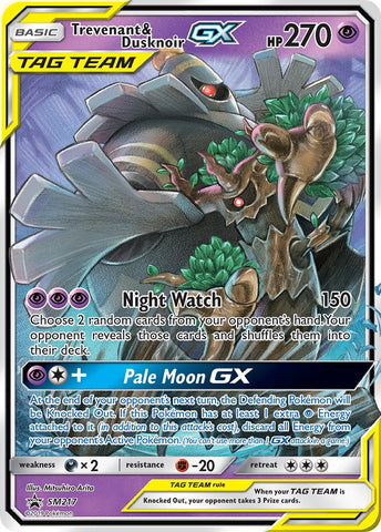 The Pale Moon GX Box and Trevenant & Dusknoir GX Deck Tech