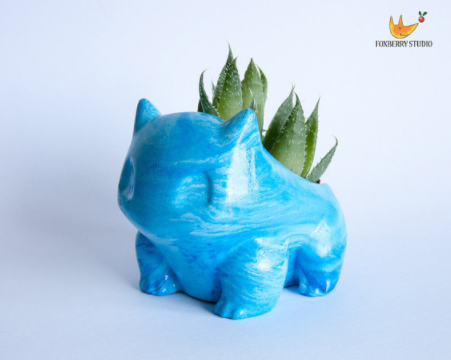 bulbasaur planter gift idea