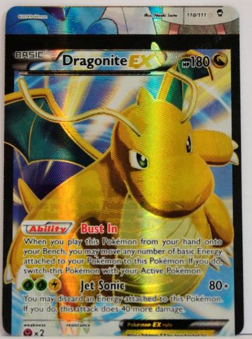Pokemon Dragonite EX