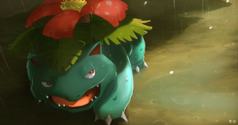 Grass type pokemon like Venosaur often feature attacks with statuses and abilities that are perfect for disrupting your enemy!