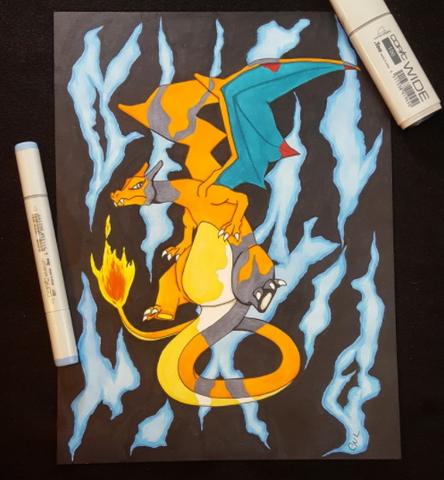Charizard Pokemon Fan Art