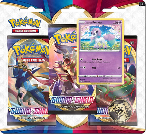 3-pack Blister Sword and Shield