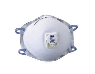 3M'Ñ¢ Standard P95 8271 Disposable Particulate Respirator With Cool Flow'Ñ¢ Exhalation Valve, Braided Headband And Adjustable M-Nose Clip - Meets NIOSH And OSHA Standards (10 Each Per Box)
