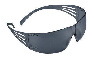 3M'Ñ¢ SecureFit'Ñ¢ Self-Adjusting Safety Glasses With Gray Polycarbonate Frame And Gray Polycarbonate Anti-Fog Lens