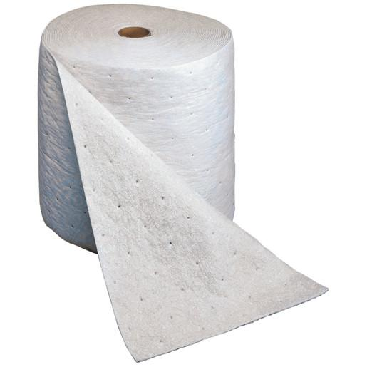 "3Mª 5"" X 50' Light Gray Polypropylene And Polyester High Capacity Maintenance Folded Sorbent, Perforated Every 16"""