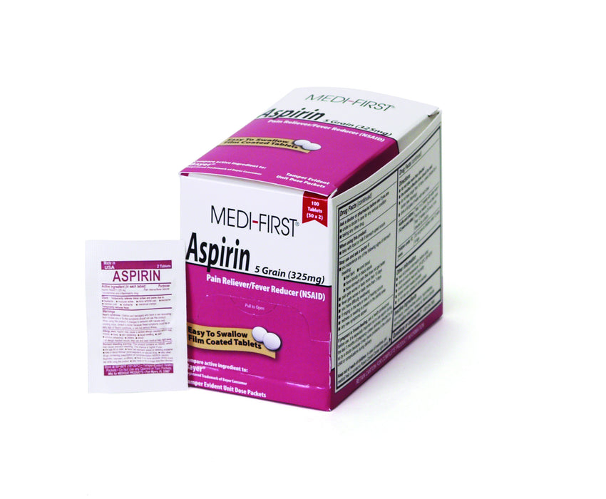 ASPIRIN BOX 250 count